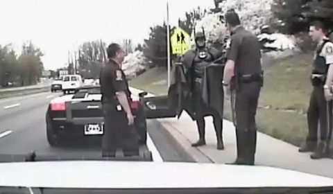 Batman-Pulled-Over-by-Police